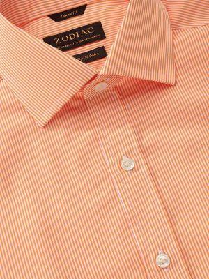 Vivace Classic Fit Orange Shirt