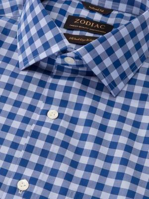 Vivace Tailored Fit Navy Shirt