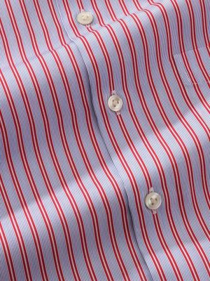 Vivace Tailored Fit Red Shirt