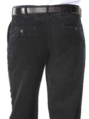 Golfers Corduroy Classic Fit Navy Trouser