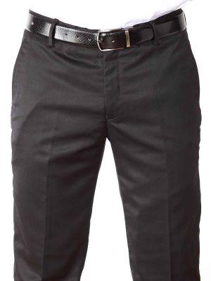 Piatto Slim Fit Black Trouser
