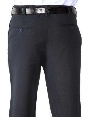 Portofino Linen Classic Fit Navy Trouser