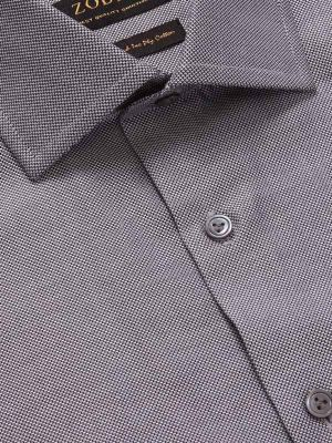 Marzeno Anthra Cotton Tailored Fit Evening Solids Shirt