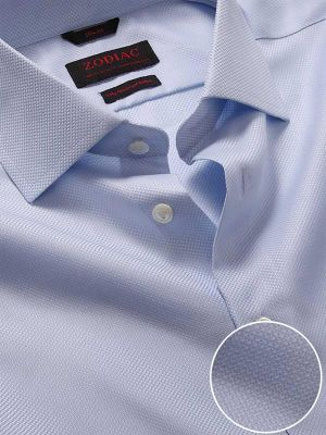 Cione Sky Cotton Slim Fit Formal Solid Shirt