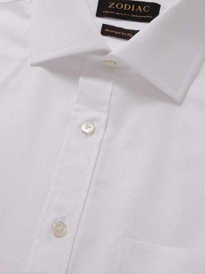 Sangiovanni White Cotton Classic Fit Formal Solids Shirt
