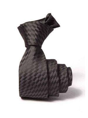 ZT-222 Structure D. Grey Slim Tie