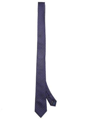 ZT-210 Dots Purple Slim Tie