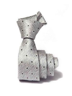 ZT-232 Structure L. Grey Slim Tie