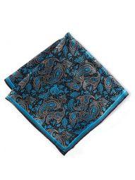 Silk Blue Pochette