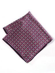 Silk Dark Purple Pochette