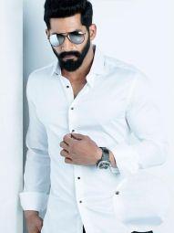 Fidel White Blended Slim Fit Solid Shirt