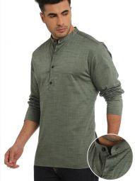 Tailored Fit Green Shurta