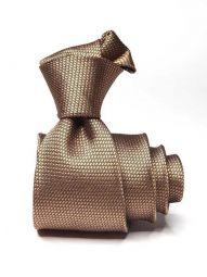 Campania Structure Medium Beige Silk Tie