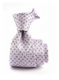 Verona Minimals Lilac Medium Silk Tie