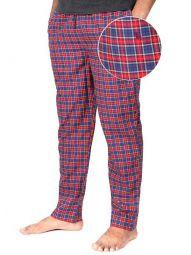 z3 Super Soft Jimmies Navy Check Pyjamas