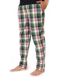 z3 Super Soft Jimmies Green Check Pyjamas