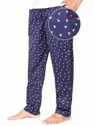 z3 Super Soft Jimmies Navy Printed Pyjamas