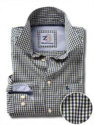 Peters Green Cotton Casual Checks Shirt