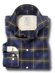 Vail Green Cotton Casual Checks Shirt