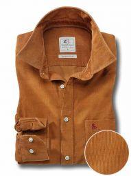 Innsbruck Cord Mustard Cotton Casual Corduroy Shirt