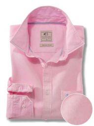 Tottenham Pink Cotton Casual Solid Shirt
