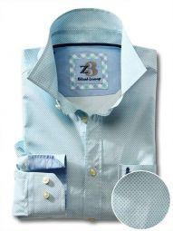 Siesta Sea Green Cotton Casual Printed Shirt