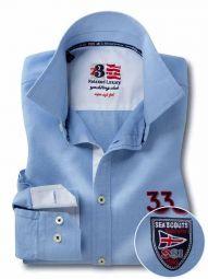 Regatta Sky Cotton Casual Solid Shirt