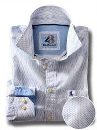 Aroa White Cotton Casual Printed Shirt