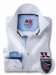 Regatta White Cotton Casual Solid Shirt