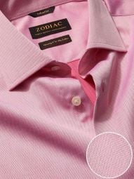 Antonello Rose Cotton Tailored Fit Formal Solid Shirt