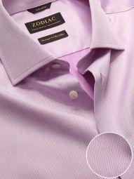 Antonello Purple Cotton Tailored Fit Formal Solid Shirt