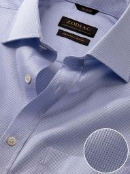 Benna Sky Cotton Classic Fit Formal Solid Shirt