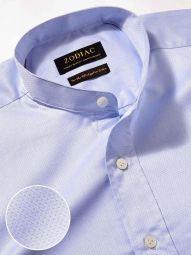 Bertolucci Sky Cotton Classic Fit Casual Solid Shirt