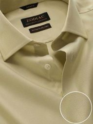 Marzeno Mint Cotton Tailored Fit Casual Solid Shirt