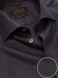 Bruciato Anthra Cotton Tailored Fit Evening Solid Shirt