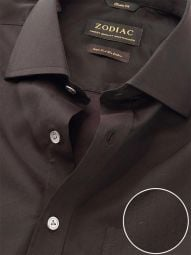 Fine Anthra Cotton Tailored Fit Evening Solid Shirt