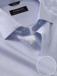 Mazzaro Sky Cotton Tailored Fit Formal Checks Shirt