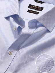 Monteverdi Sky Cotton Classic Fit Formal Solid Shirt