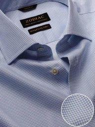 Novella Sky Cotton Tailored Fit Casual Checks Shirt