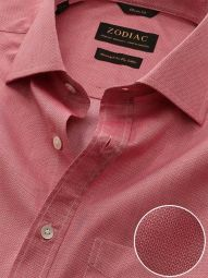 Roreto Rose Cotton Classic Fit Casual Solid Shirt