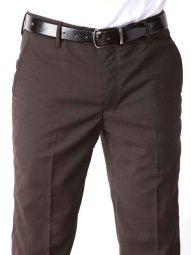 Pollone Fil-A-Fil Tailored Fit Black Trouser