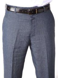 Positano Linen Classic Fit Navy Trouser