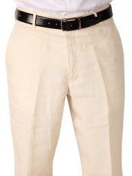 Trasita Tailored Fit Beige Trouser