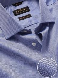 Structure Ink Cotton Classic Fit Formal Solid Shirt